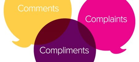 Comments, Compliments and Complaints